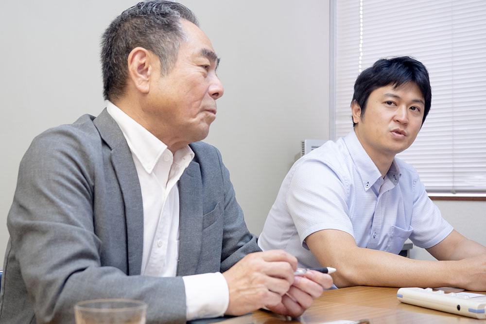 メガエフシーシステムズ株式会社中島様、久保様
